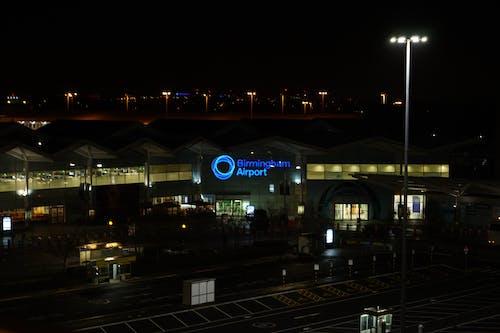 Free stock photo of airport, dark, midnight
