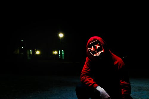 Free stock photo of costume, creepy, dark, guy