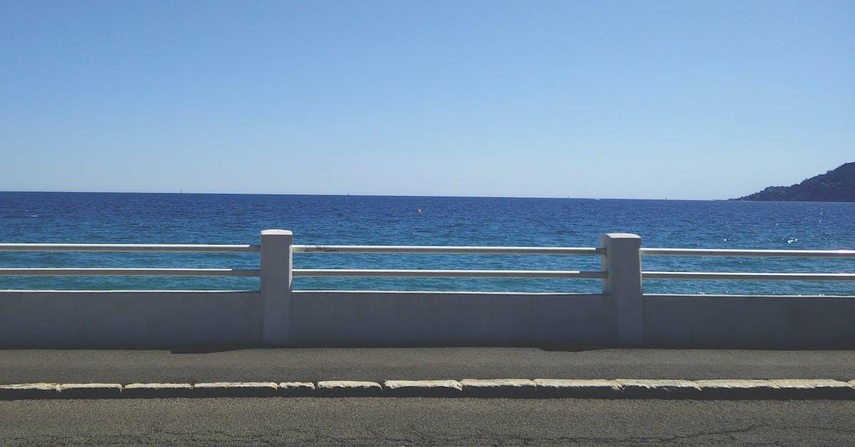 Free stock photo of beach, france, mediterranean