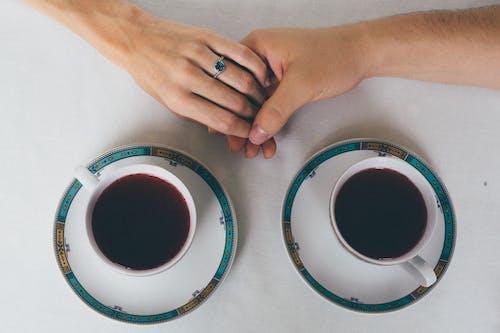 คลังภาพถ่ายฟรี ของ กาแฟ, กาแฟดำ, กาแฟในถ้วย, ของเหลว