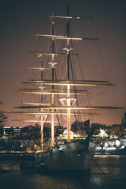 agua, barca, barco