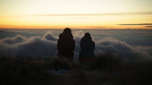 Δωρεάν στοκ φωτογραφιών με απόγευμα, βουνά, βουνό, γαλάζιος ουρανός