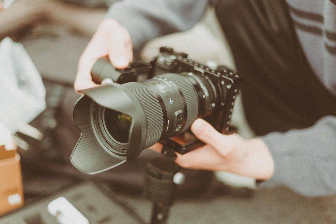 elektronikk, fotograf, fotografi