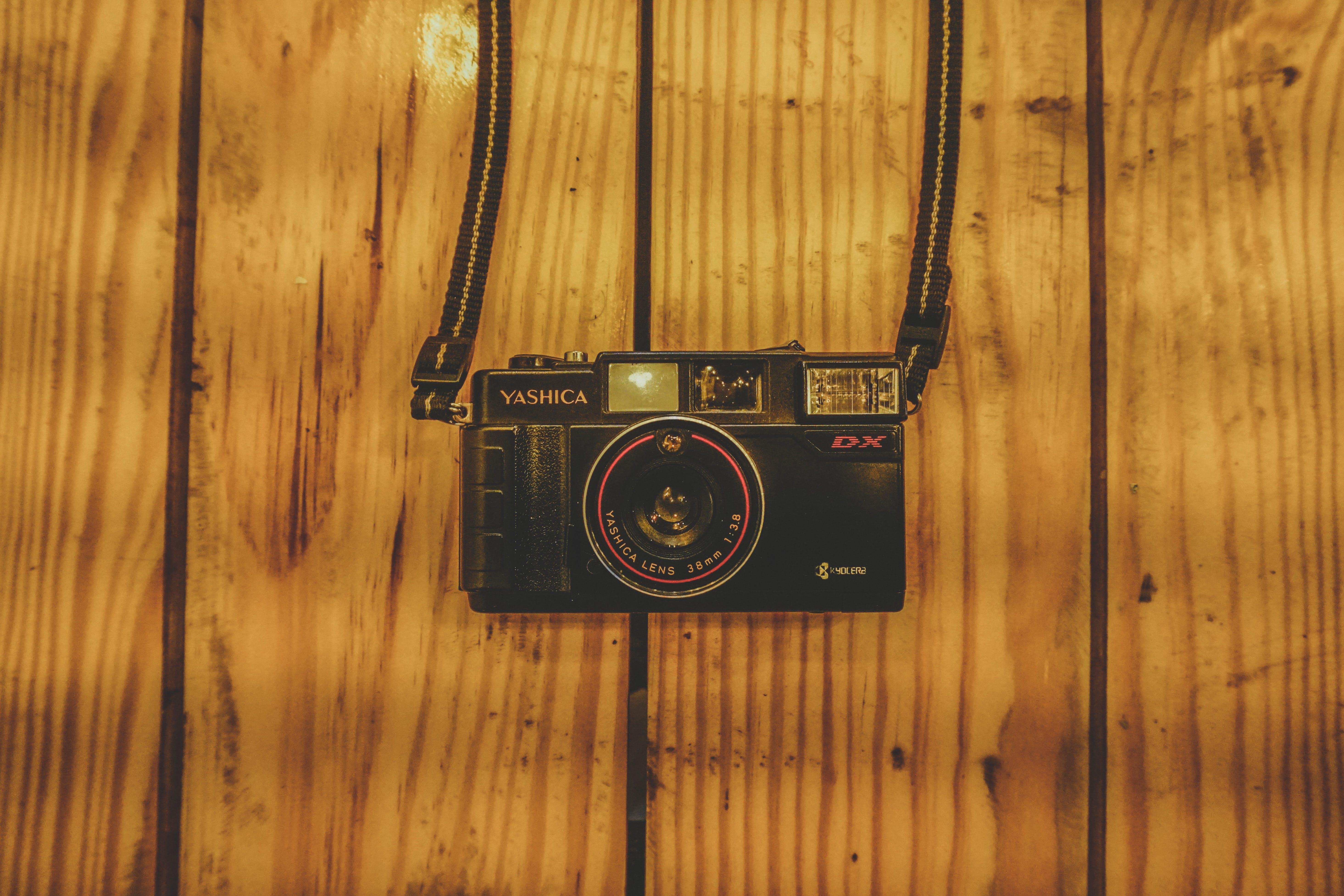 Black and Gray Yashica Digital Camera
