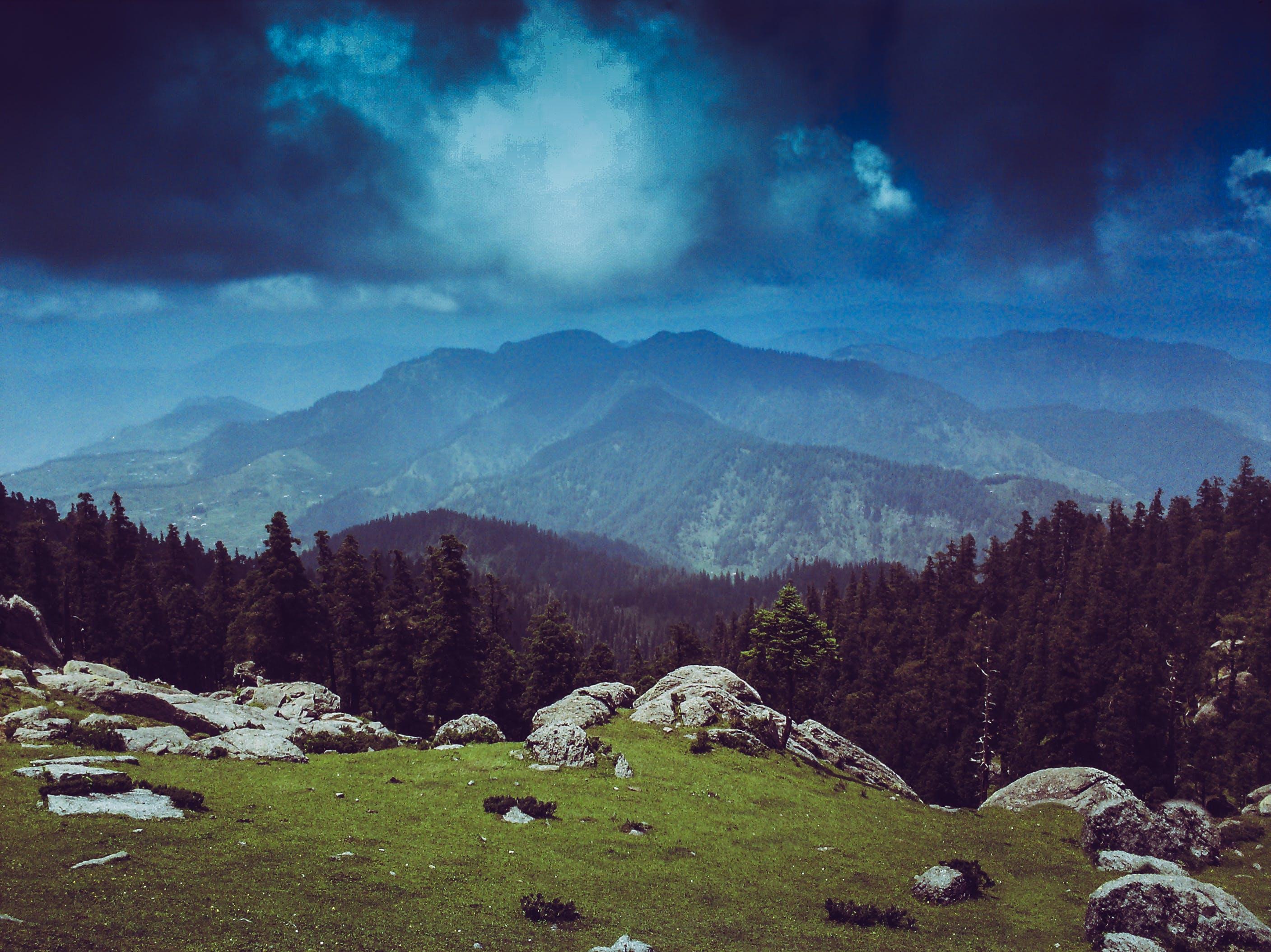 경치, 경치가 좋은, 골짜기, 구름층의 무료 스톡 사진