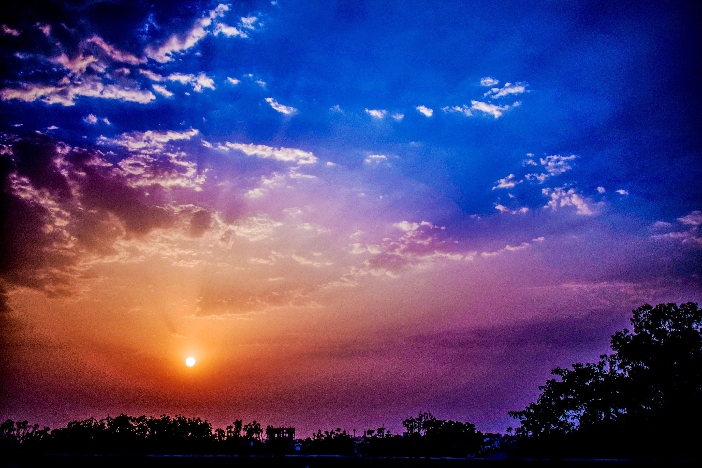 Δωρεάν στοκ φωτογραφιών με ακτίνες ηλίου, απόγευμα, γραφικός, δέντρα