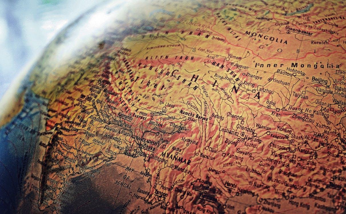 bản đồ, dẫn đường, địa hình