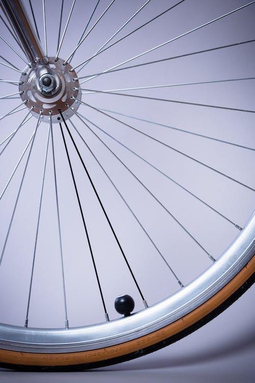 Grey Bicycle Rim