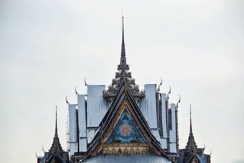 Foto stok gratis Arsitektur, Asia, atap, bangunan