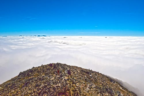 Δωρεάν στοκ φωτογραφιών με Άνθρωποι, βουνά, γραφικός, ουρανός