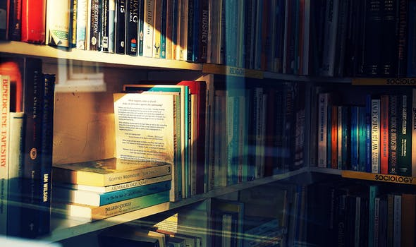Photography Of Books On Bookshelf