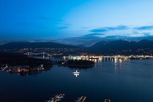 Immagine gratuita di l'oceano pacifico, porto di carbone, vancouver