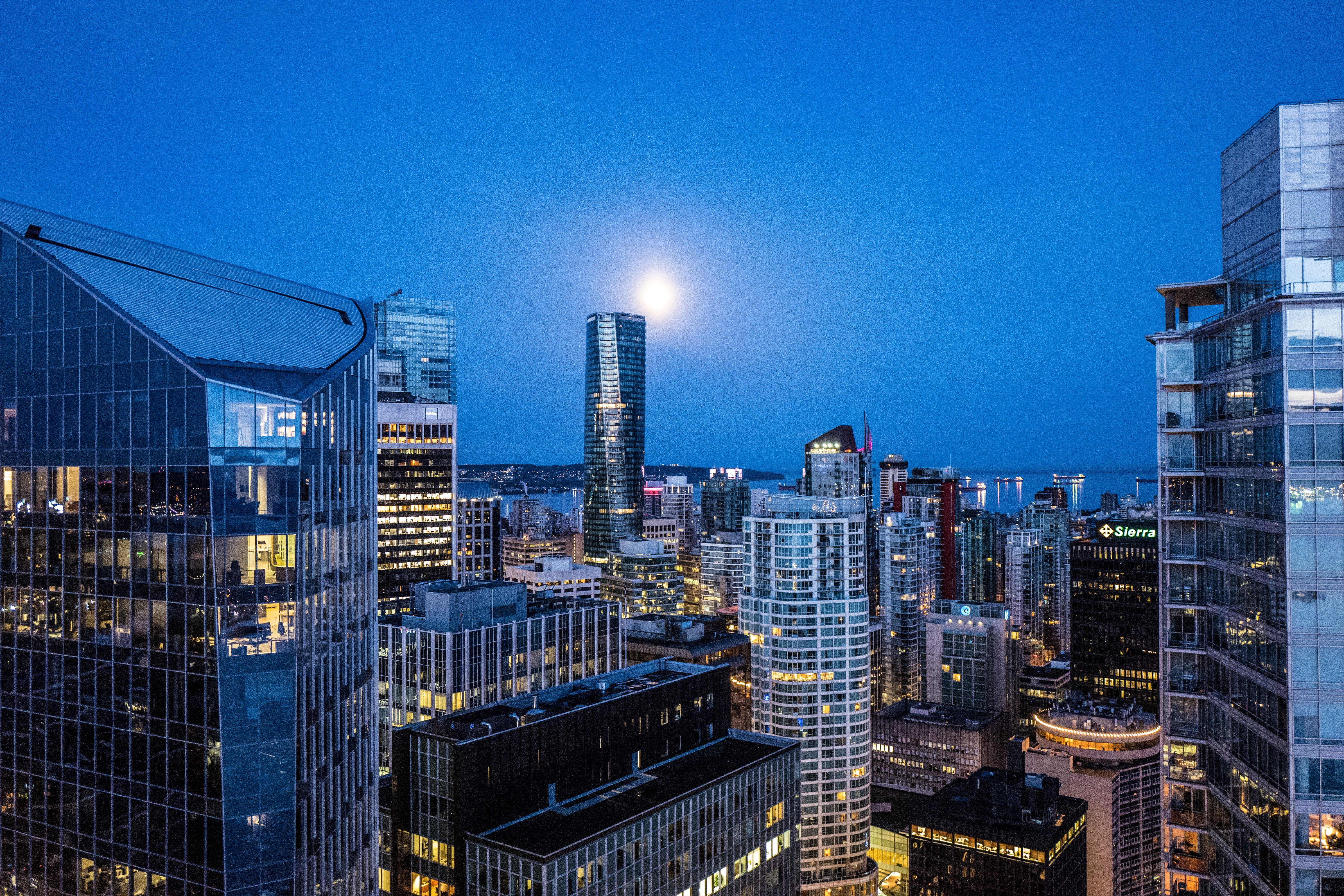 Photography of Buildings During Night Time