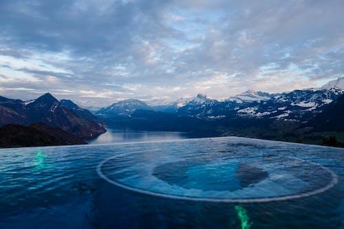 Immagine gratuita di acqua, cielo, ghiaccio, infinity pool