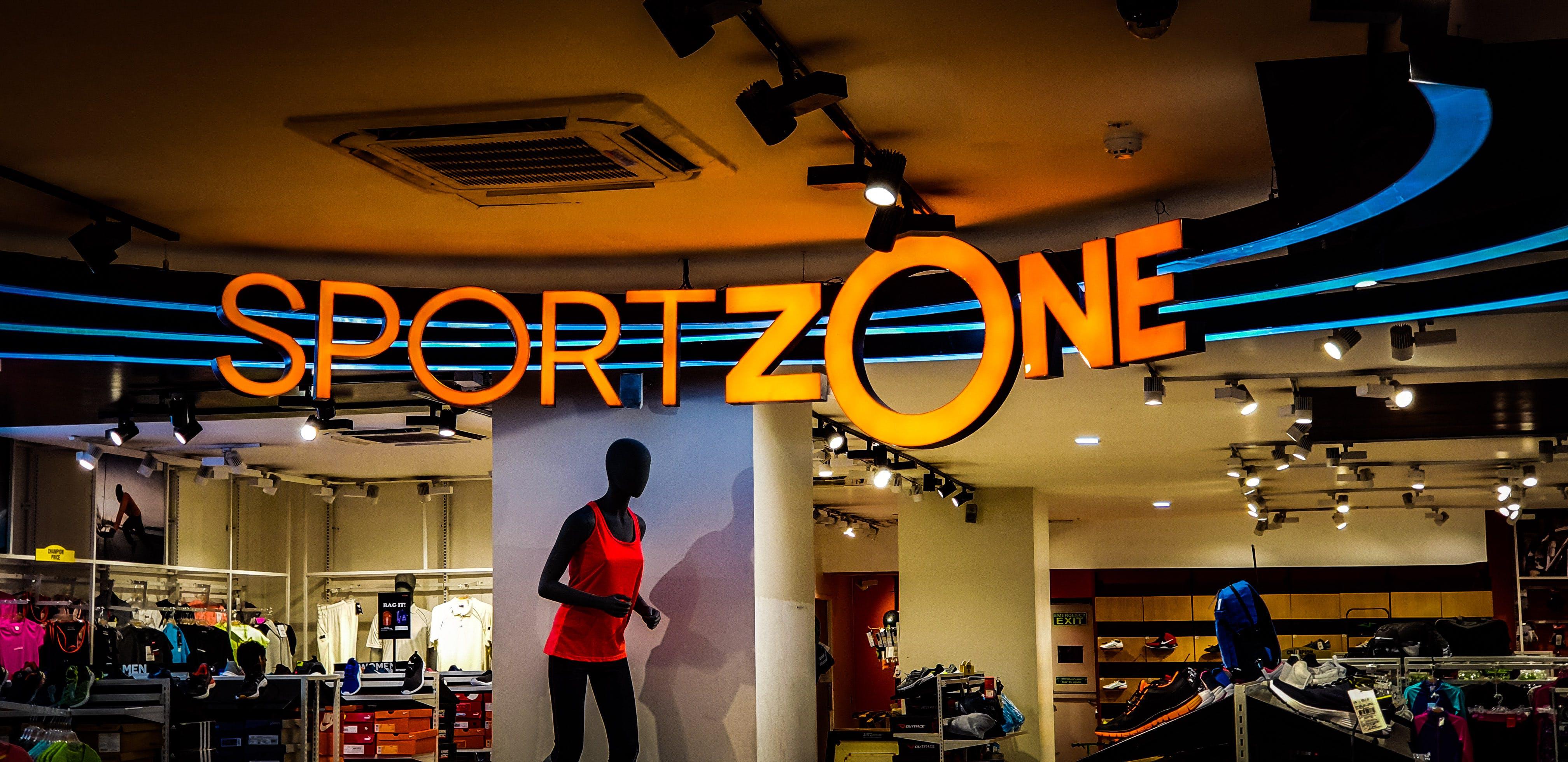 Sport Zone Signage