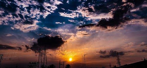 Imagine de stoc gratuită din apus, cer, cer cu nori, cer de seară