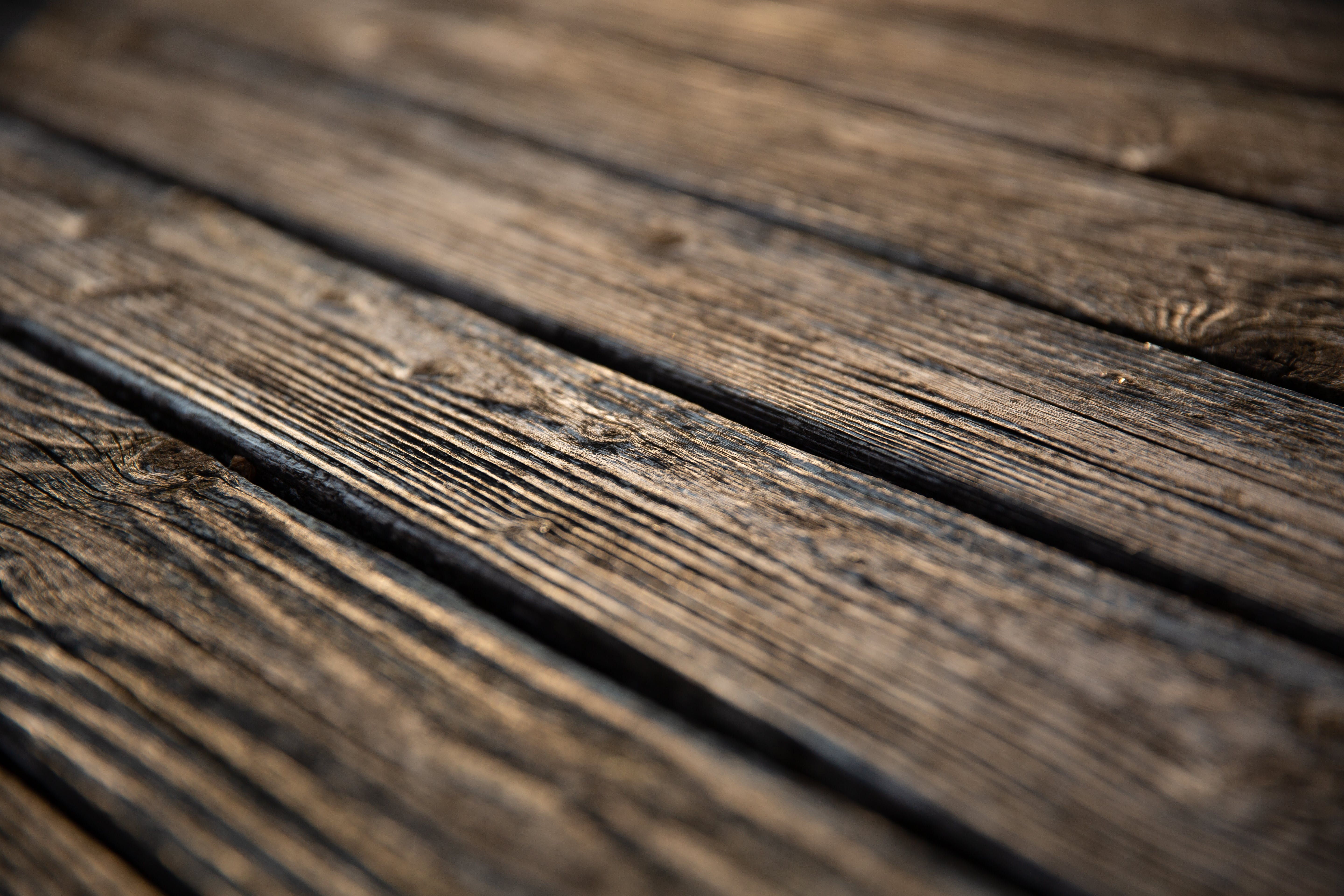 Selective Focus Photography of Brown Wooden Floor Parquet