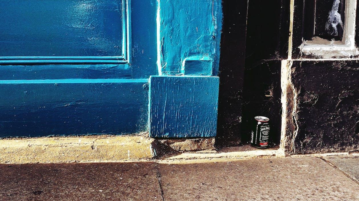 Immagine gratuita di azzurro, blu, bottiglia di birra