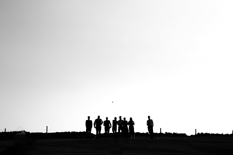 Silhouette of Men