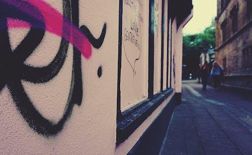 Free stock photo of city, graffiti, pavement