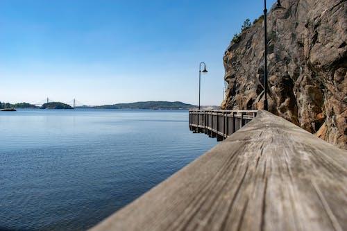 Free stock photo of boardwalk, by the sea, sea