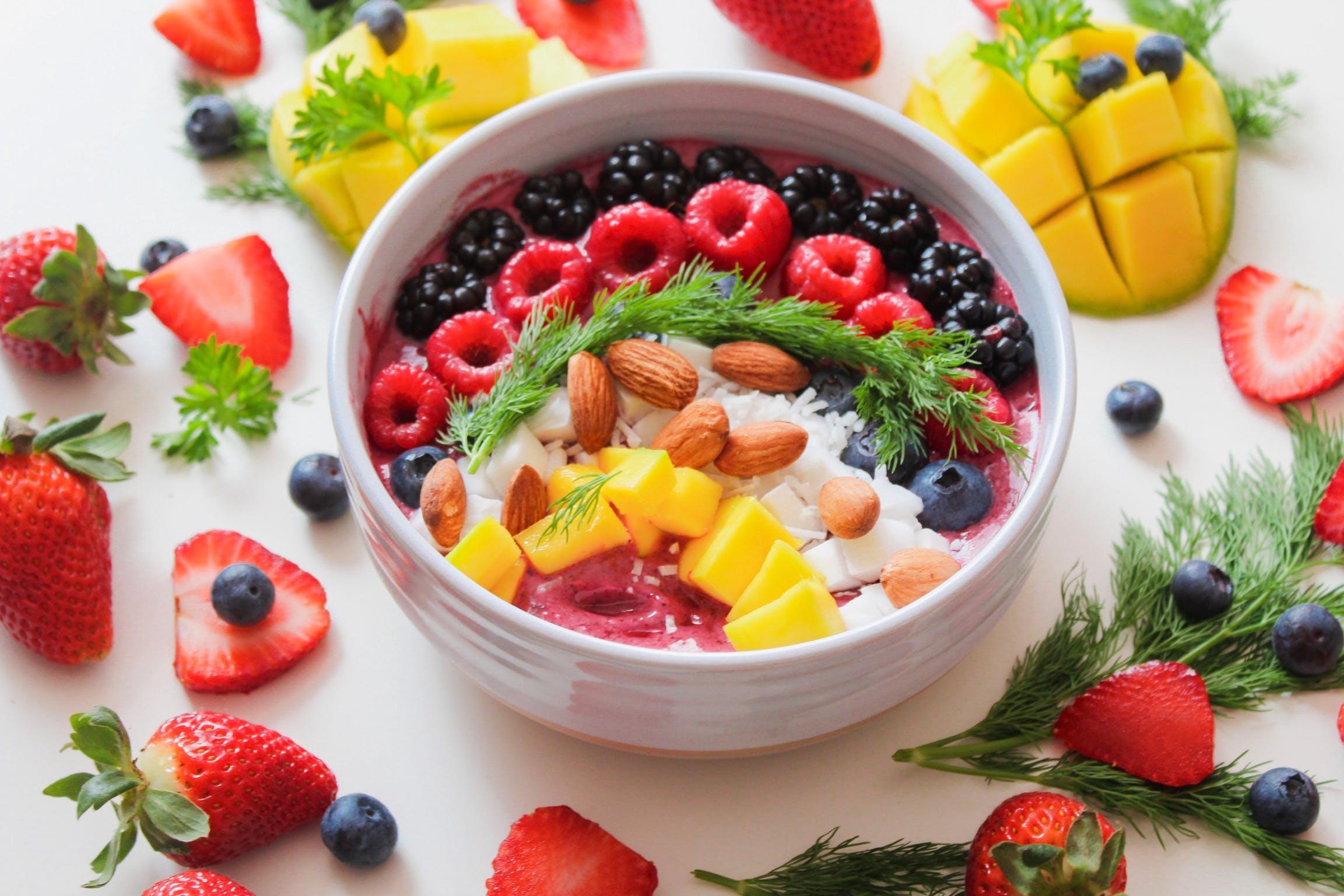 blackberry, bobule, borůvky