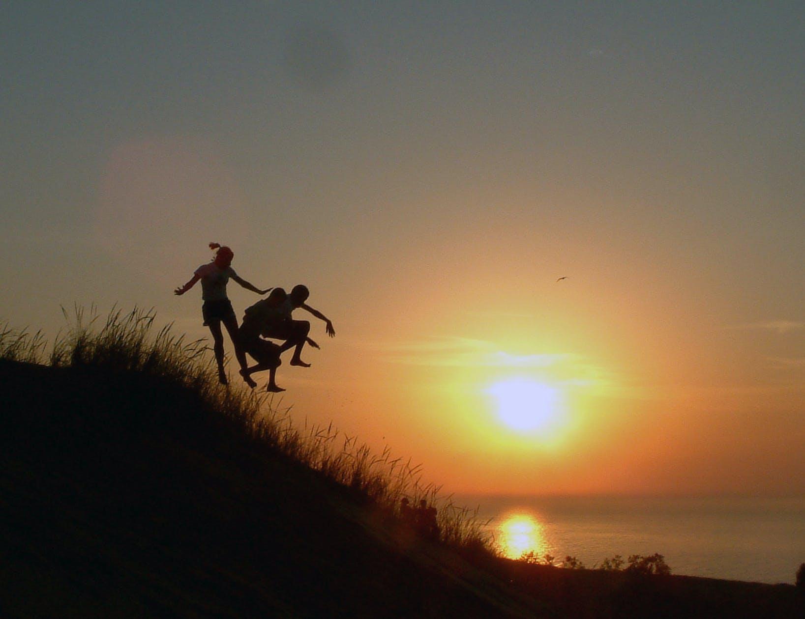 Free stock photo of sunset, beach, sand, summer