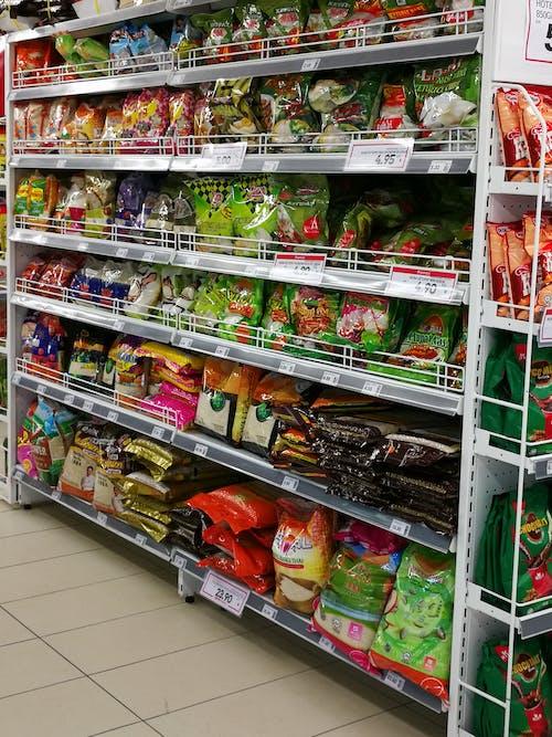 Free stock photo of supermarket