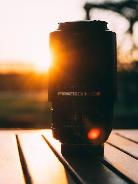alba, attrezzatura fotografica, concentrarsi