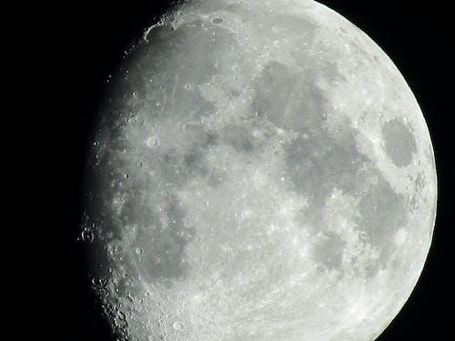 Free stock photo of moon, moon surface, moonlight, moonrise