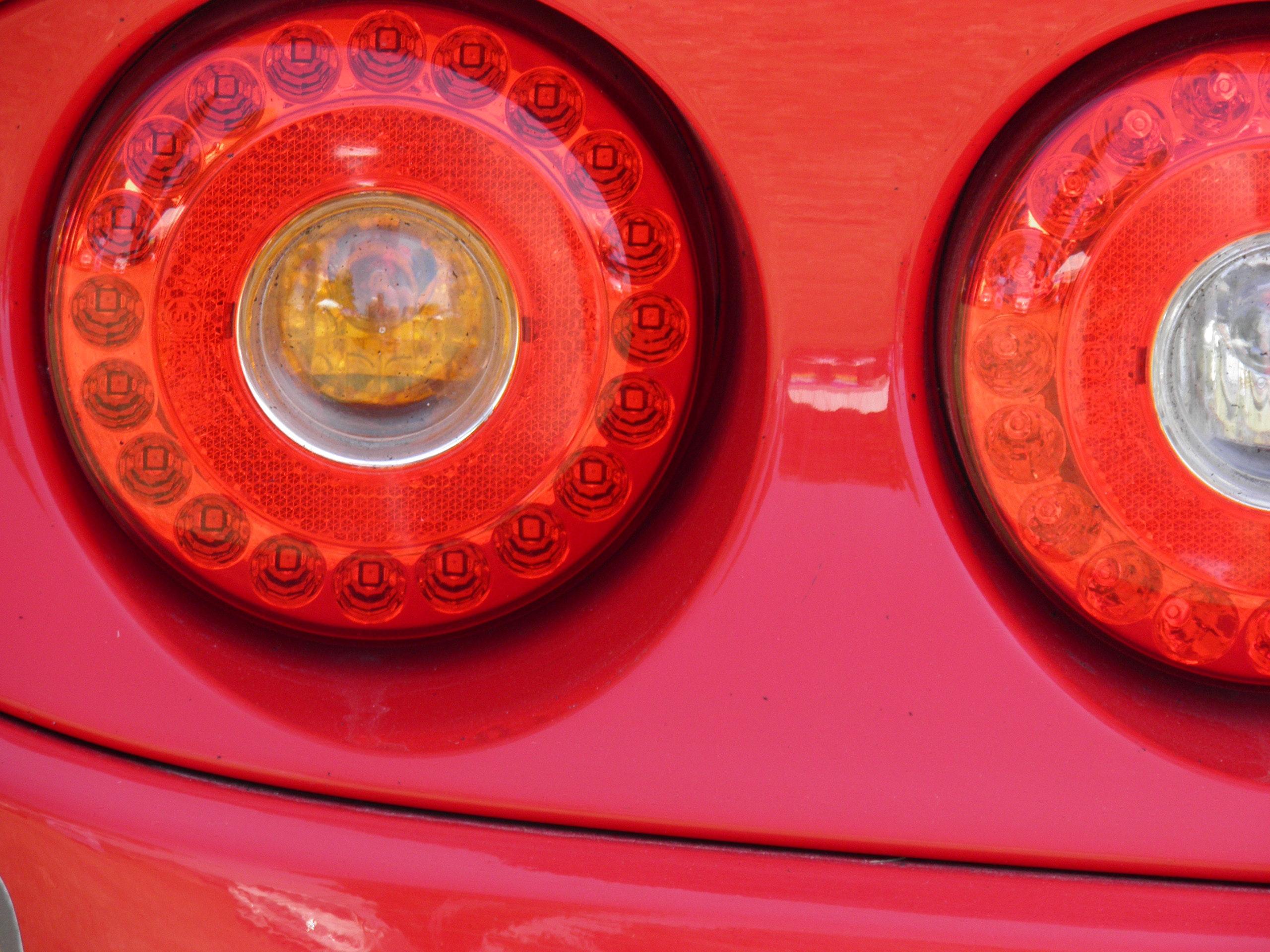 Free stock photo of back light, car lights, lotus car