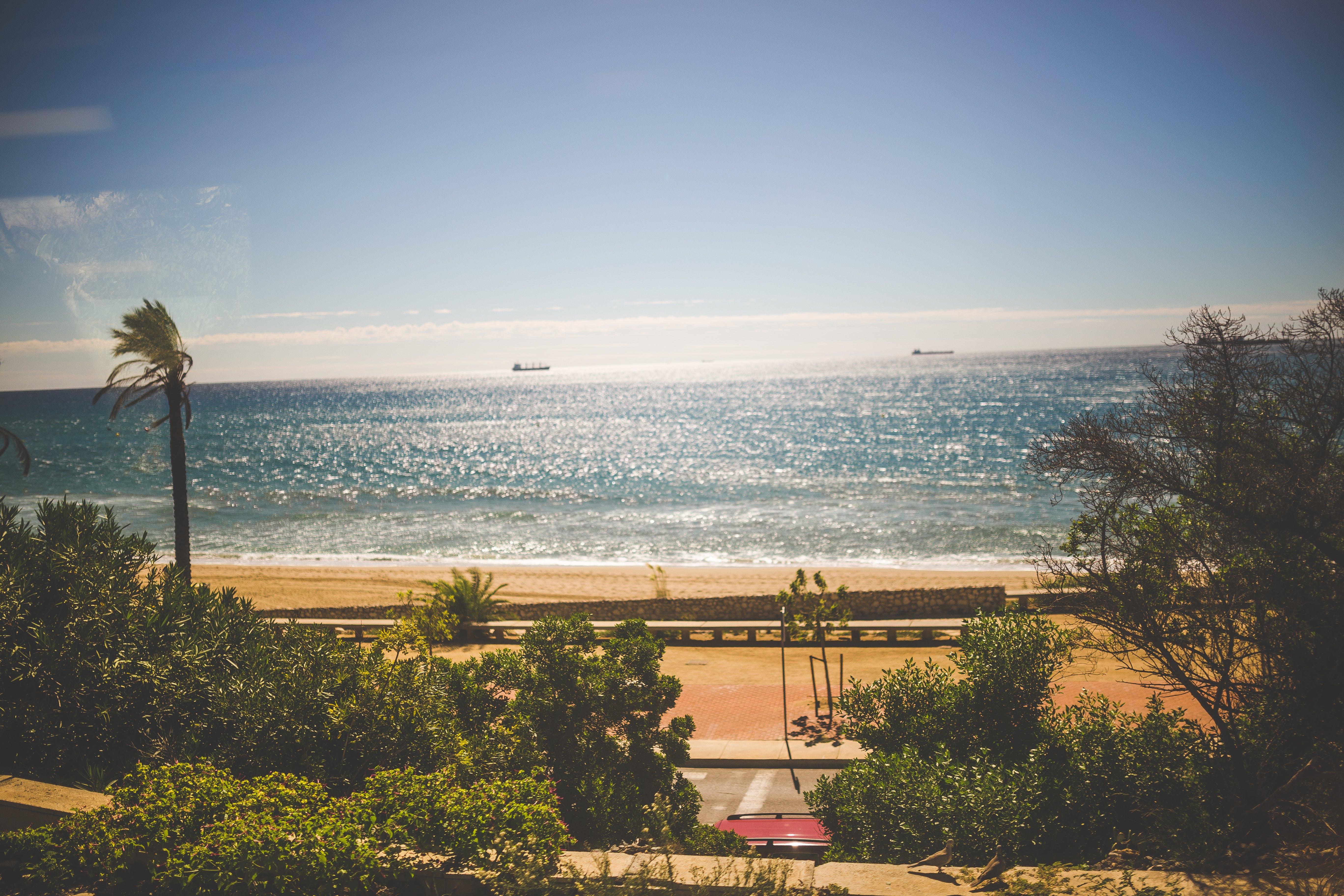 Over Looking Beach