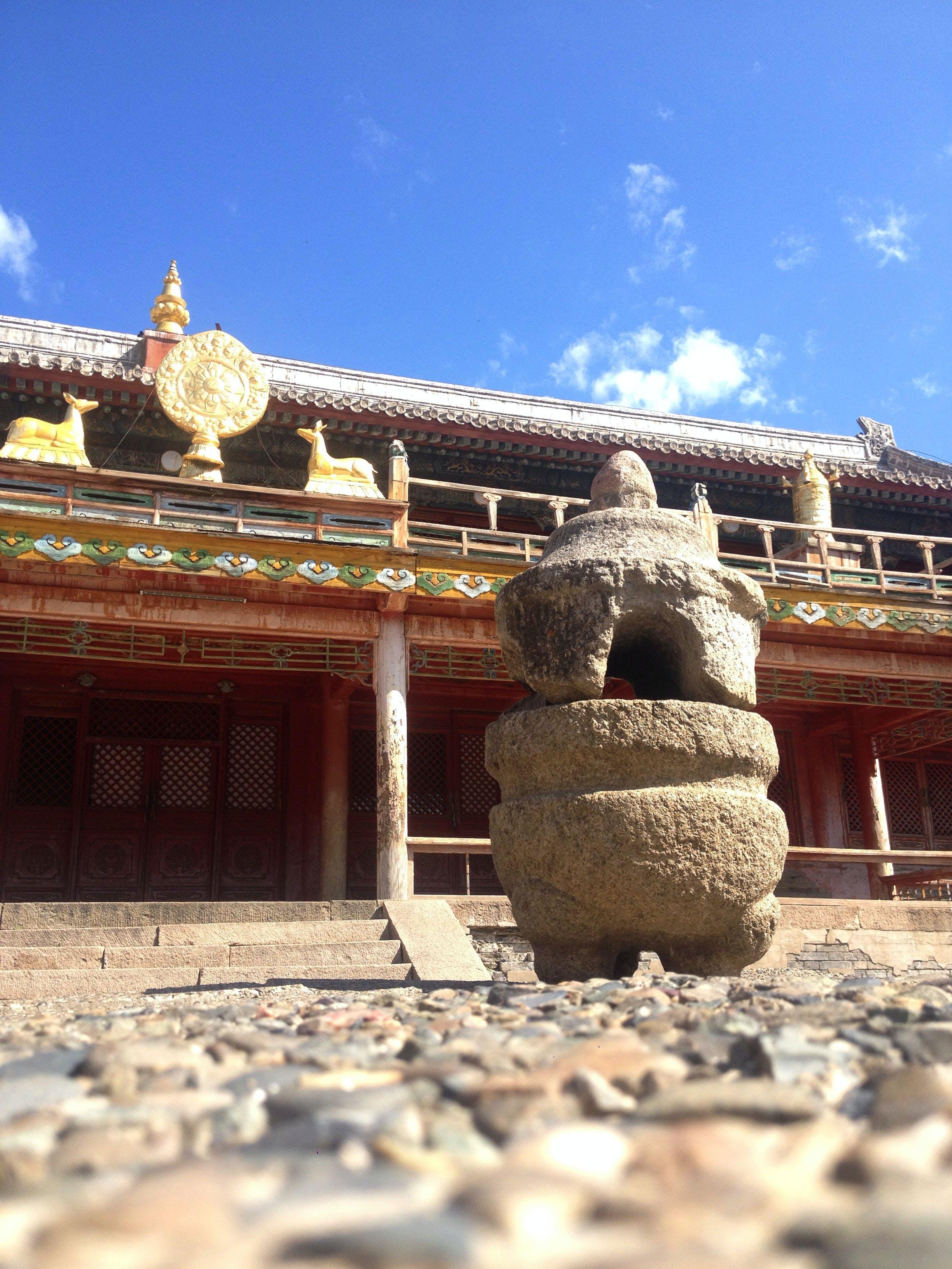 Gratis lagerfoto af amarbayasgalant, buddha, historie, kloster