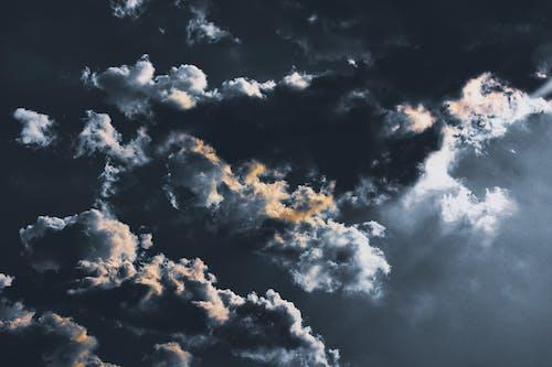 คลังภาพถ่ายฟรี ของ การก่อตัวของเมฆ, ครึ้มเมฆ, ดราม่า, ท้องฟ้า