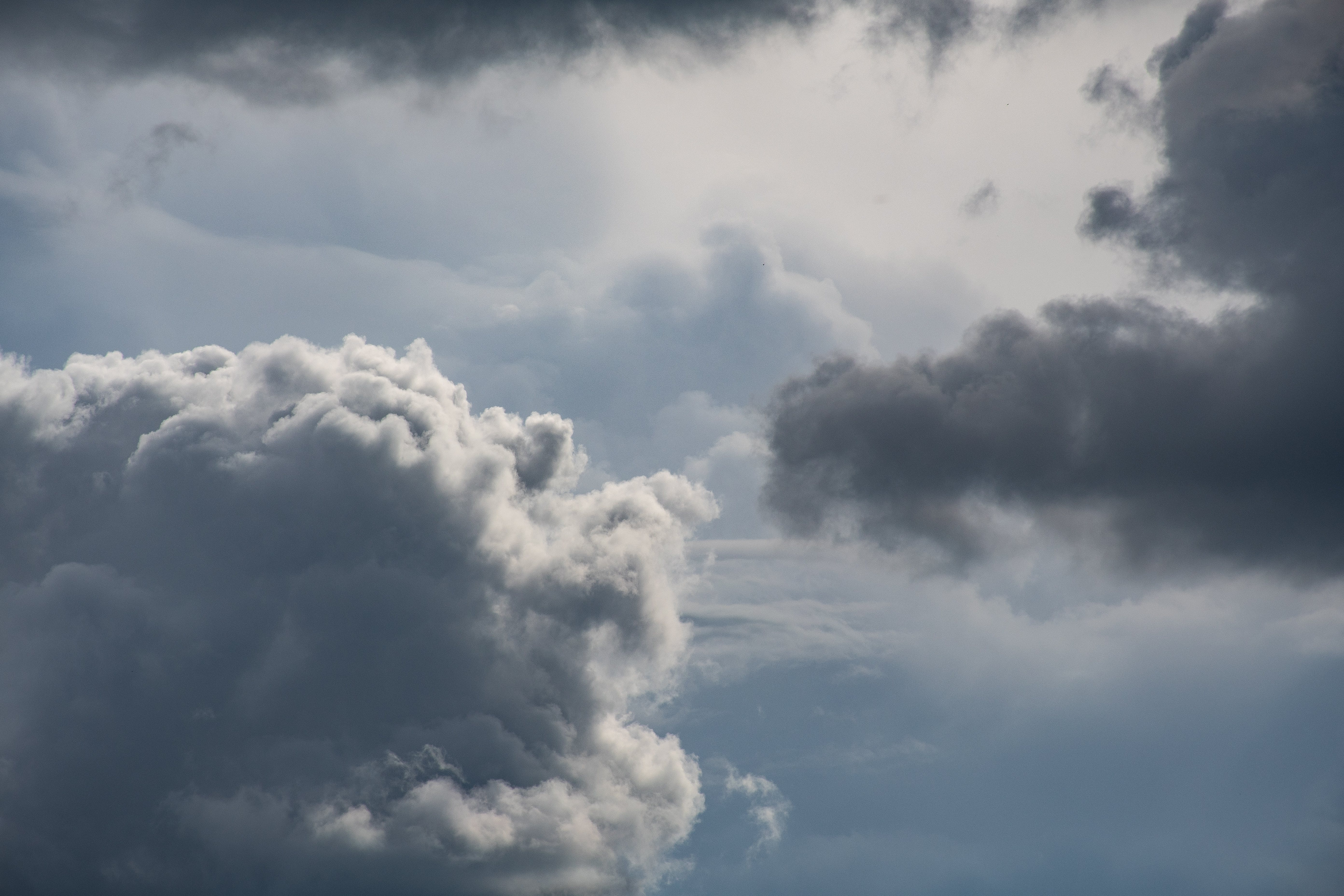 Photo of White and Gray Clouds