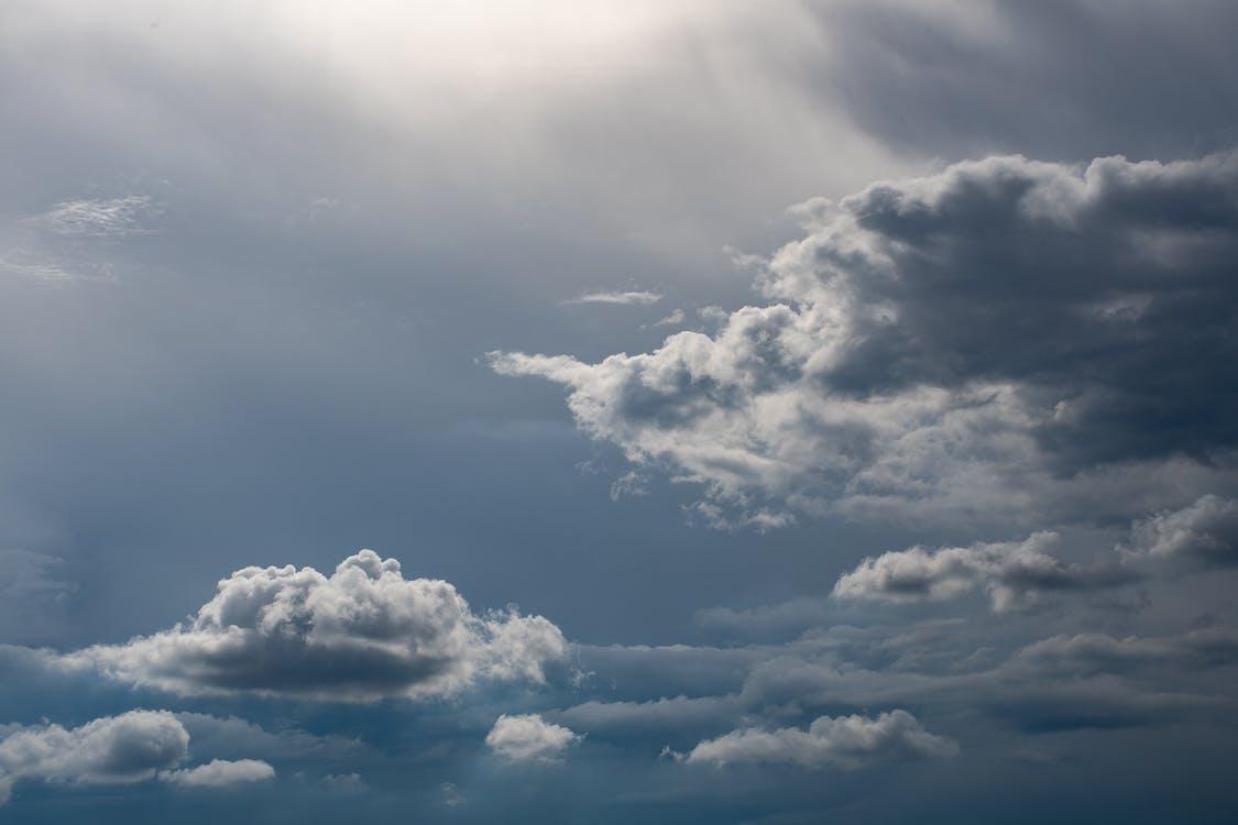 atmosfer, bulut görünümü, bulut manzarası