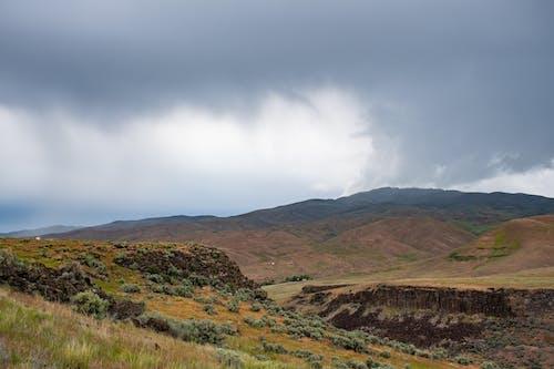 Darmowe zdjęcie z galerii z chmury, dolina, góra, krajobraz