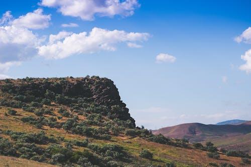 Foto stok gratis alam, awan, berawan, hijau