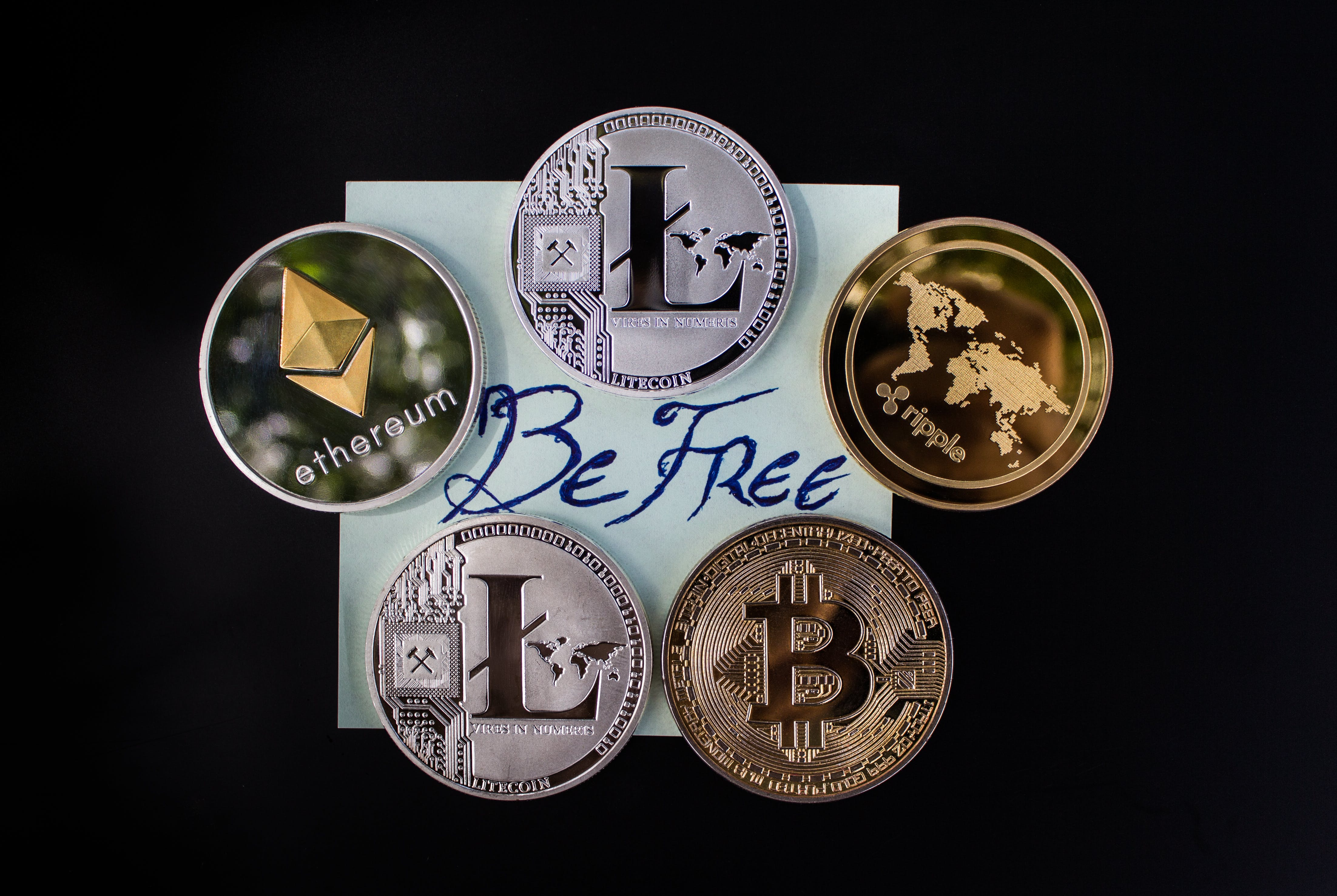 Free stock photo of asset, be free, bitcoin, coin