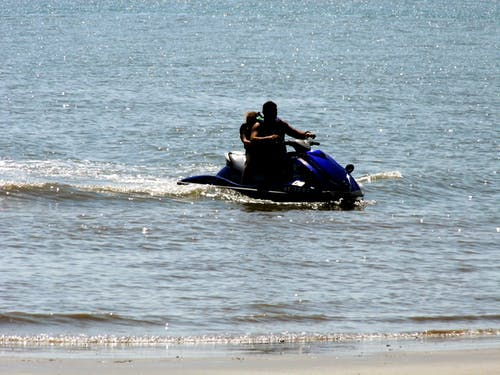 Foto d'estoc gratuïta de moto aquàtica