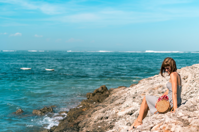 Foto stok gratis cerah, kaum wanita, laut, lautan