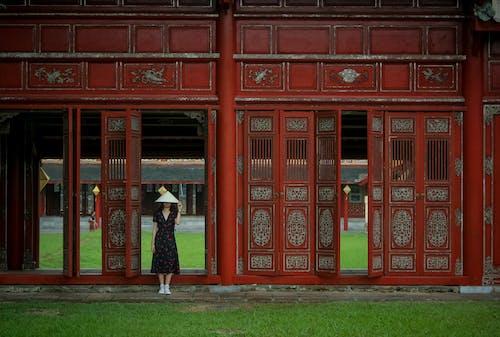 Gratis stockfoto met architectuur, Aziatisch meisje, binnenkomst, deuren