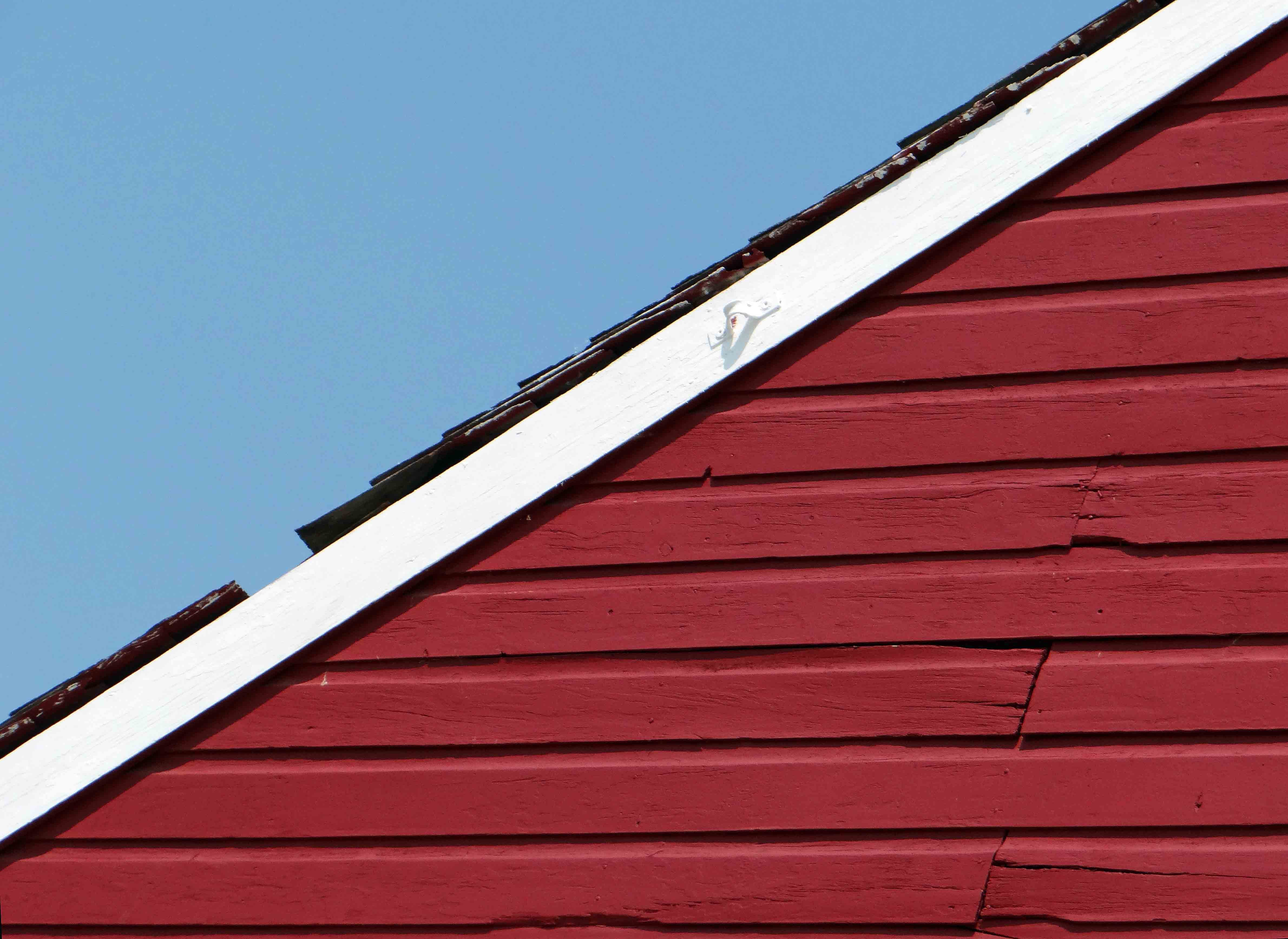 Free stock photo of artistic, blue sky, red