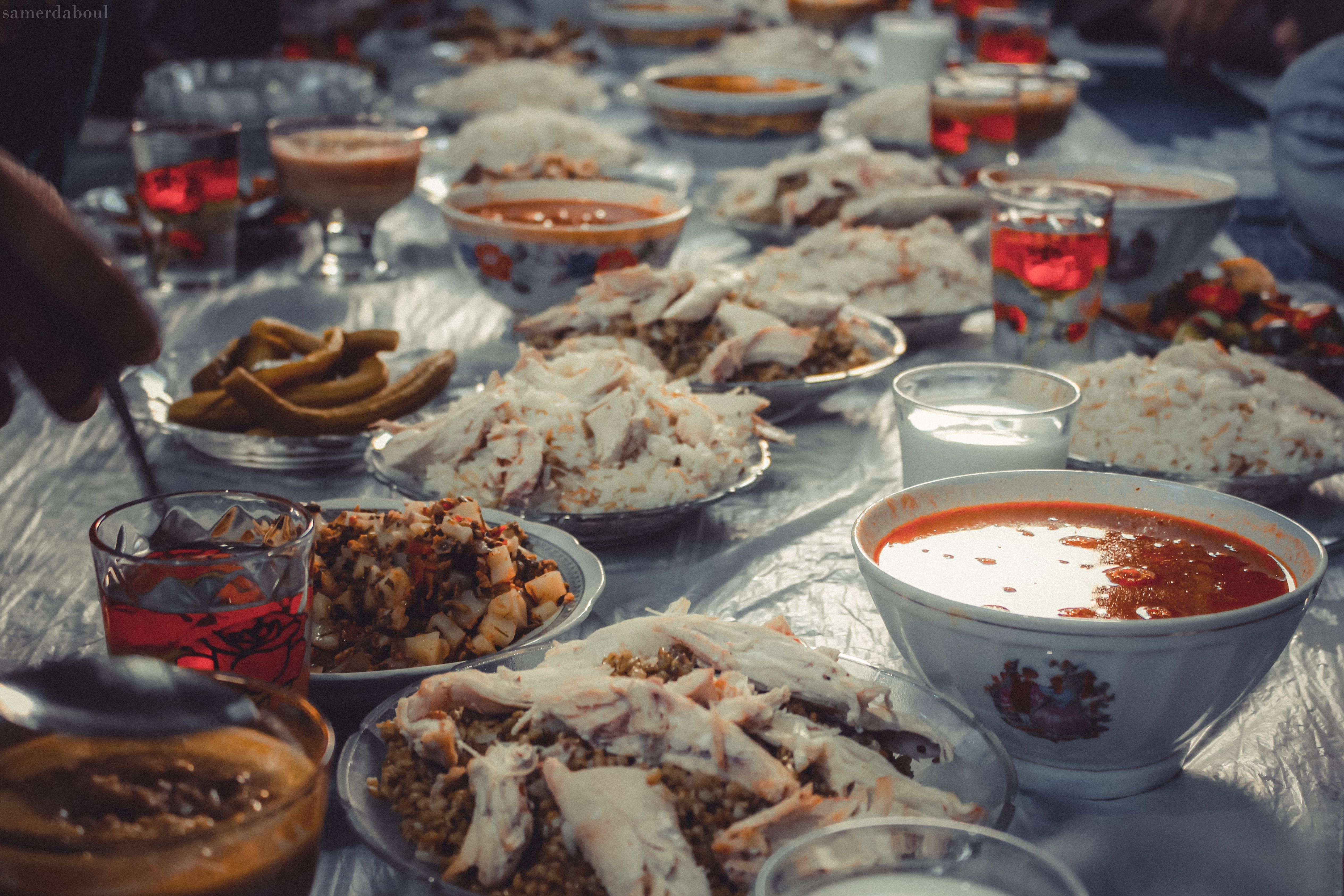 Free stock photo of dinner, family, fasting, food