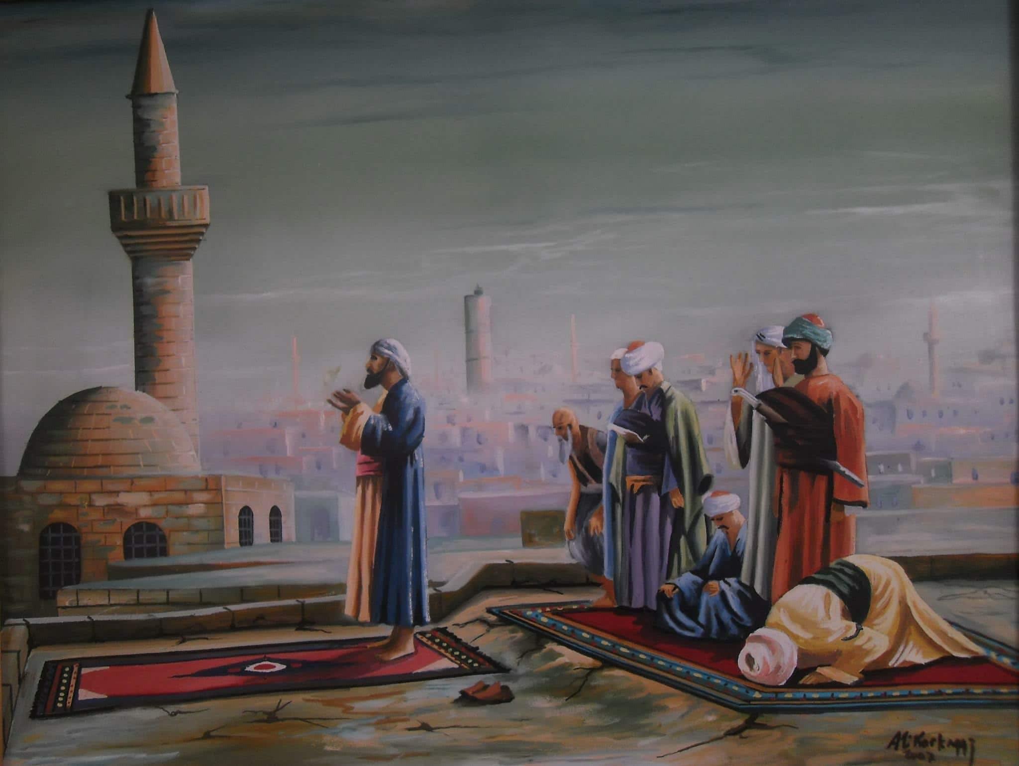 Free stock photo of Şanlıurfa, Balıklıgöl, Dergah, namaz