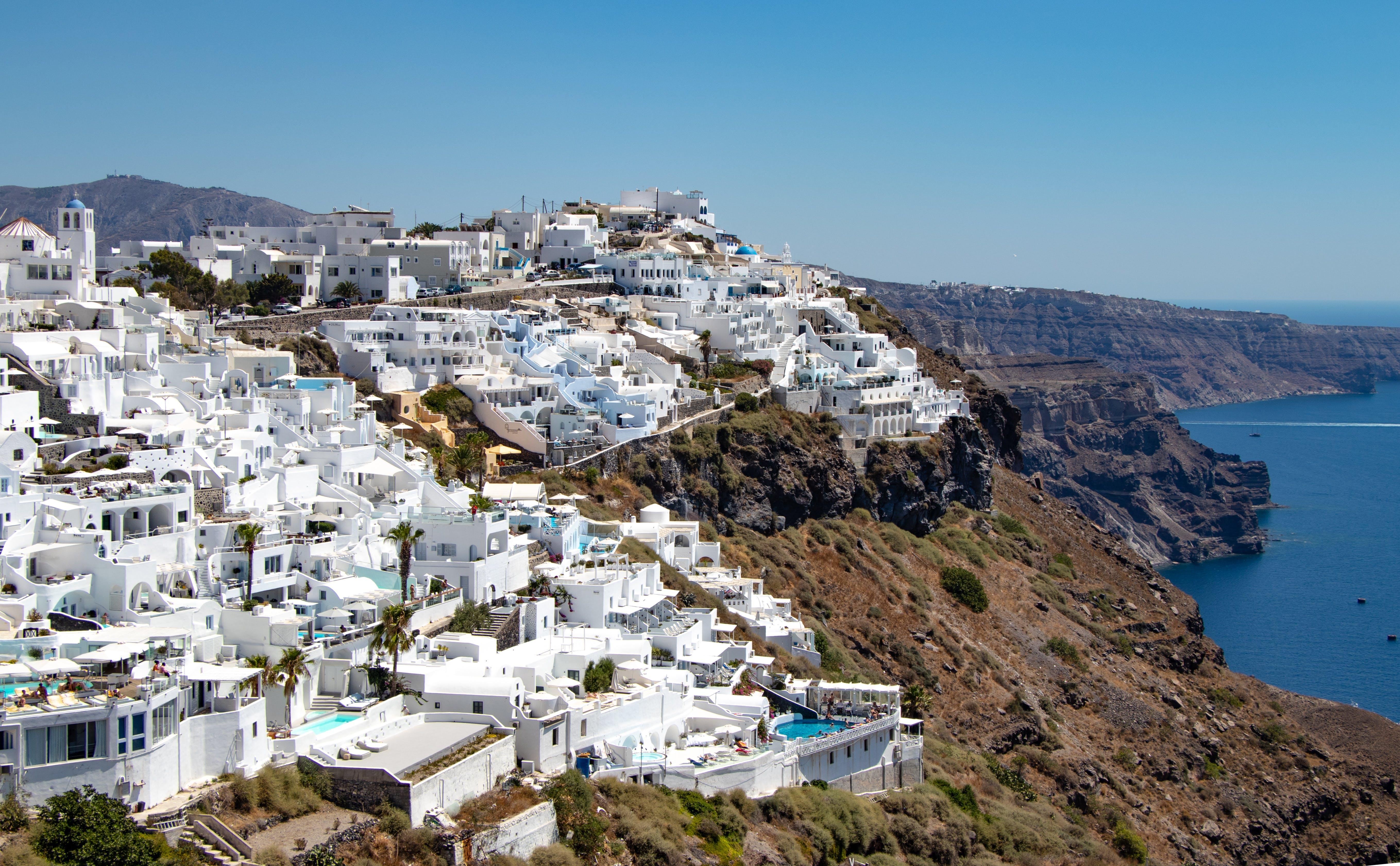 Gratis lagerfoto af by, Grækenland, Panorama, panoramaudsigt