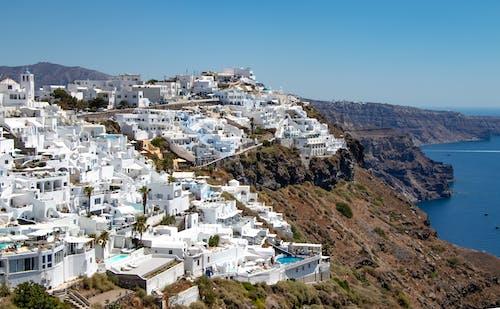 Kostenloses Stock Foto zu beeindruckend, griechenland, panorama, panoramablick