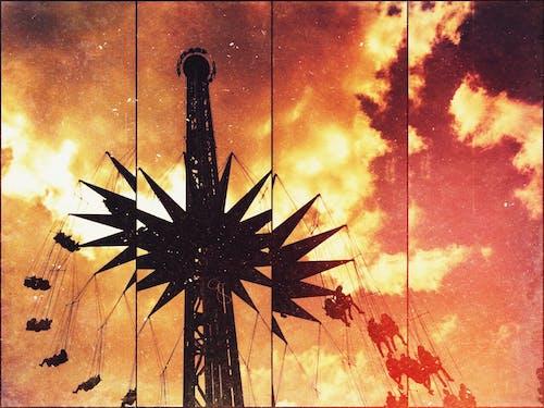 Základová fotografie zdarma na téma karneval, obloha, skyride, zábava