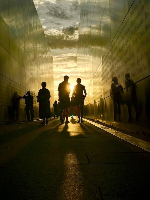 Gratis stockfoto met 9/11, dageraad, gedenkteken, mensen