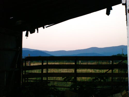 Free stock photo of barn, mountains